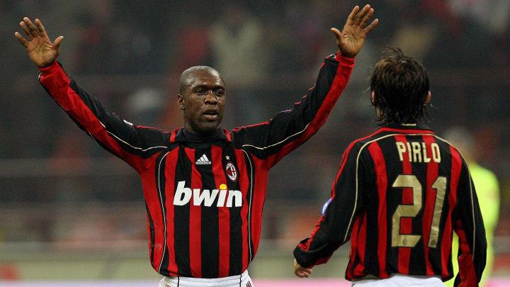 AC Milan's midfielder Clarence Seedorf (