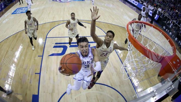 Tre Jones, Devin Vassell - ACC Basketball Tournament - Championship