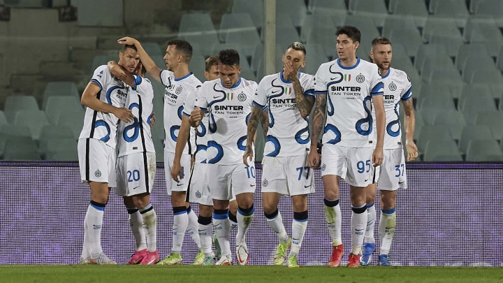 Inter are pretty good - despite their bad kit
