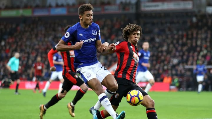 Calvert Lewin made an inauspicious start at Everton