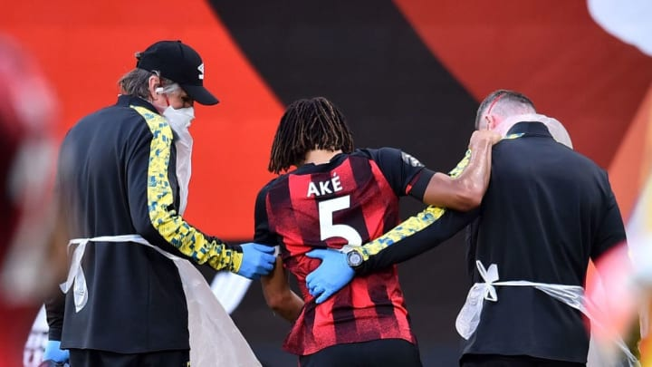 Ake is out for the rest of the season after sustaining an injury against Leicester