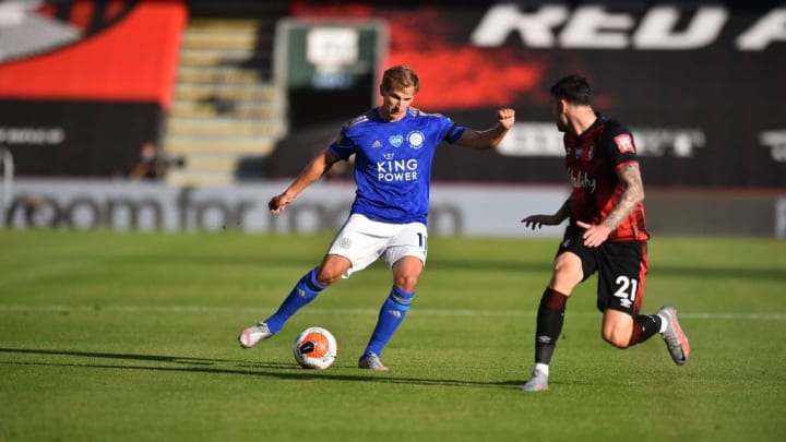 Marc Albrighton remains one of Leicester's best crossers