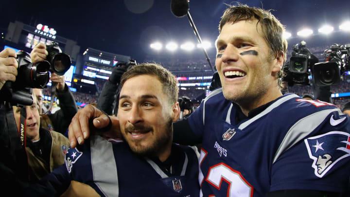 Tom Brady and Danny Amendola