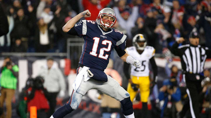 Tom Brady demonstrated his dominance one last time against the Steelers in the 2017 AFC Championship.