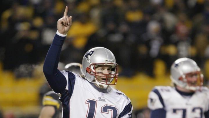 Tom Brady broke Steelers fans hearts in the 2005 AFC Championship.