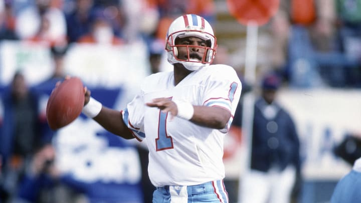 The Oilers nabbed quarterback extraordinaire Warren Moon, as a undrafted free agent.