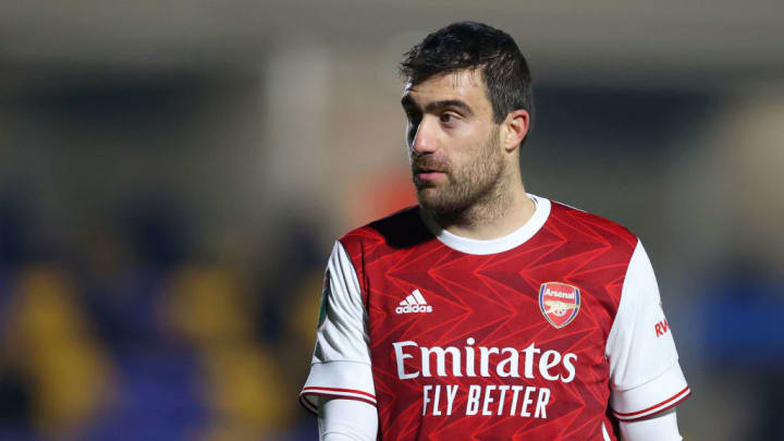 Sokratis Papastathopoulos looks to be on his way out of the club