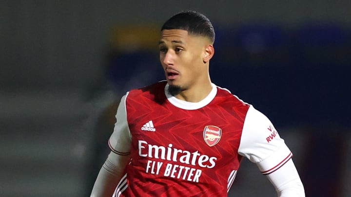 William Saliba has joined Nice on loan from Arsenal