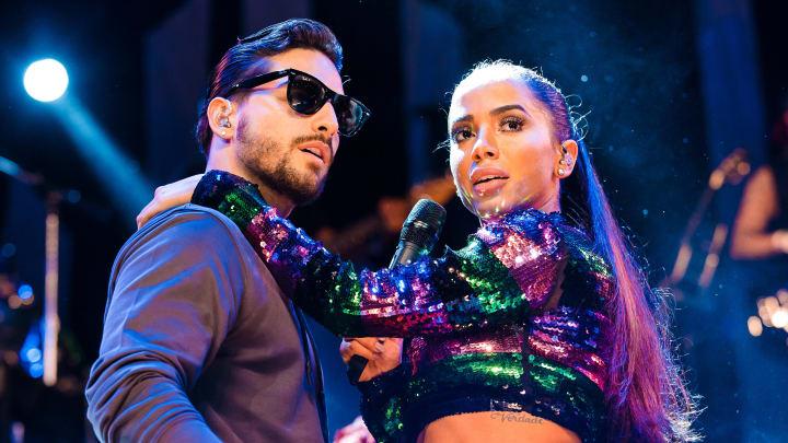 Maluma y la cantante brasileña Anitta están en la cima de la música latina