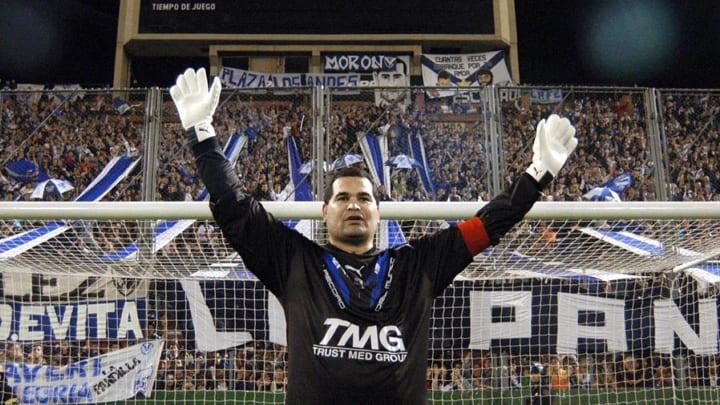 (ARCHIVO) El arquero paraguayo Jose Luis