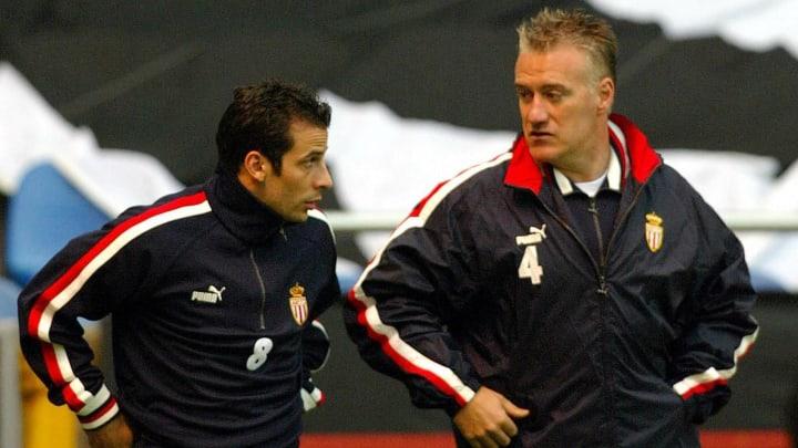 Ludovic Giuly a porté le brassard de capitaine sous les ordres de Didier Deschamps à l'AS Monaco