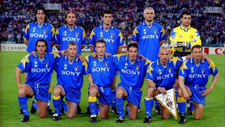 Juventus last won the Champions League in 1996