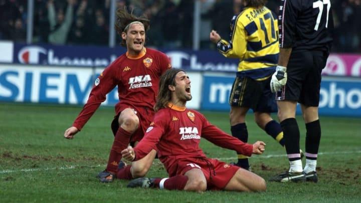 Gabriel Batistuta Francesco Totti