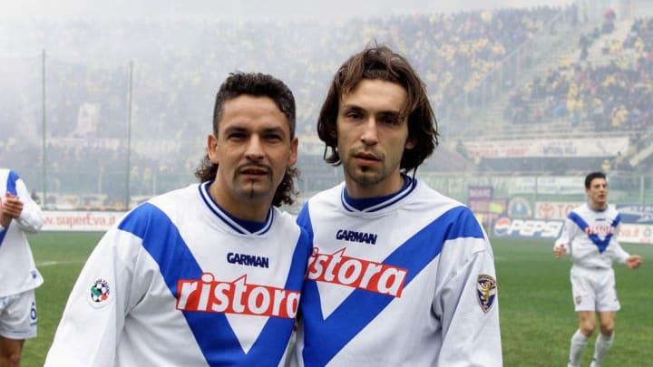 Baggio dan Pirlo di Brescia