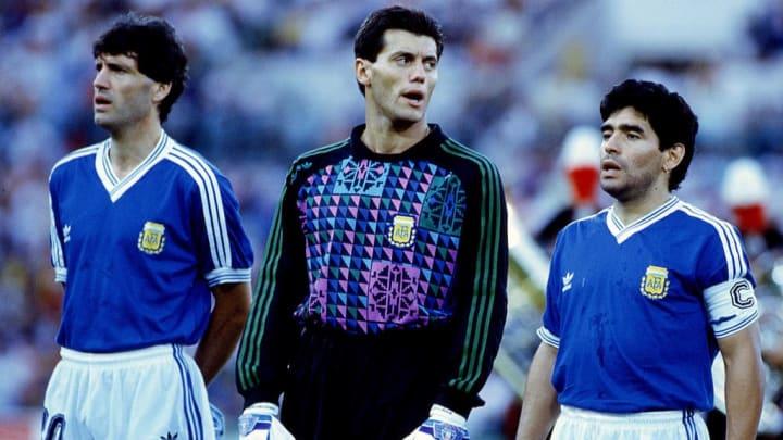 Juan Ernesto Simon, Sergio Goycochea, Diego Armando Maradona
