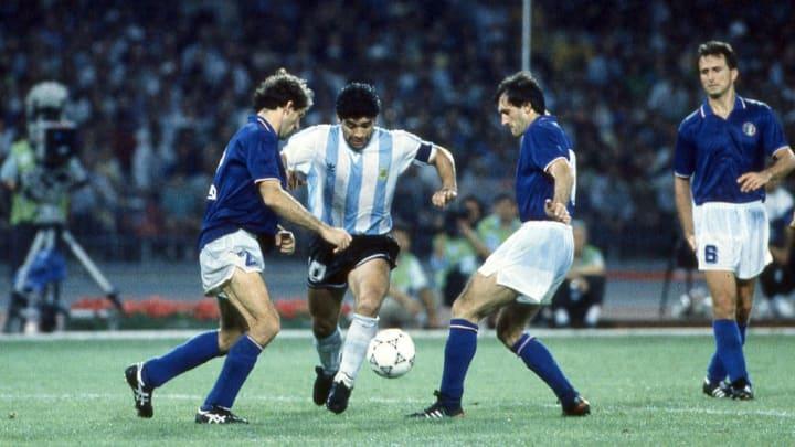 Maradona vs Italy