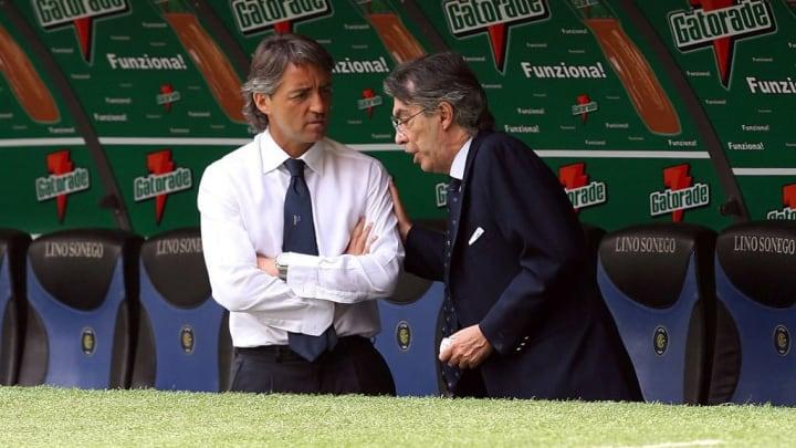 Massimo Moratti, Roberto Mancini