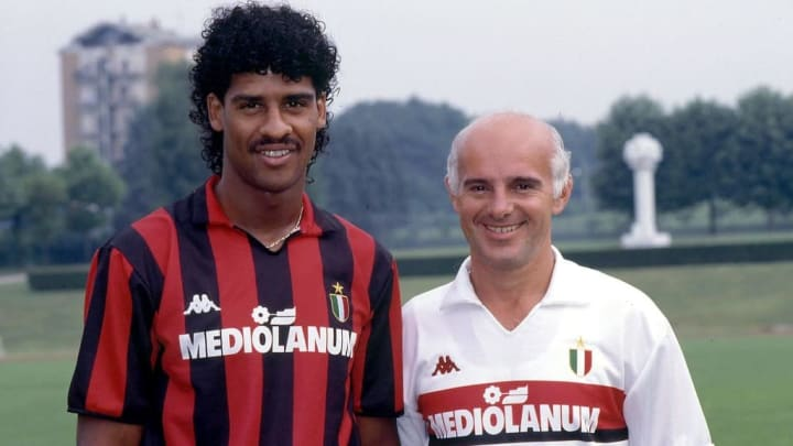 Frank Rijkaard e Arrigo Sacchi