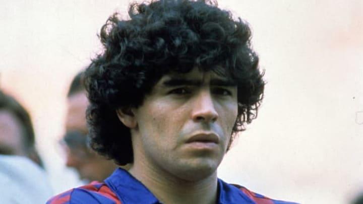 Diego Maradona a joué au FC Barcelone entre 1981 et 1984.