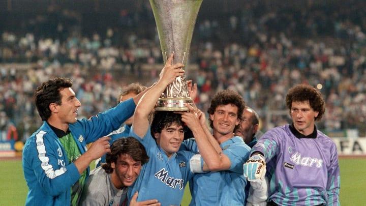 Raffaele Di Fusco, Massimo Crippa, Diego Armando Maradona, Francesco Romano, Giuliano Giuliani