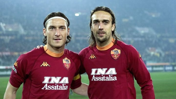 Francesco Totti, Gabriel Batistuta