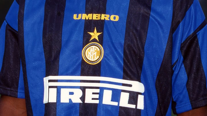 The first Inter shirt sponsored by Pirelli, back in 1995