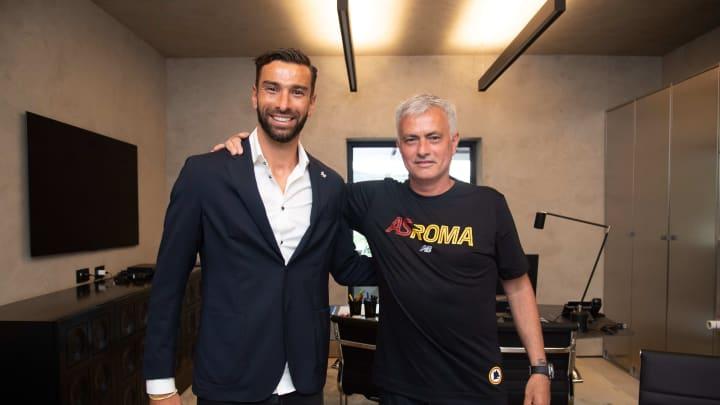 Mourinho e Rui Patricio