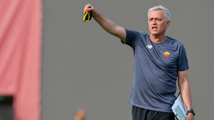 Jose Mourinho hat mit der Roma Großes vor