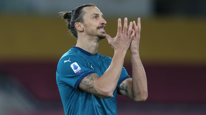Zlatan Ibrahimovic has suffered a thigh injury