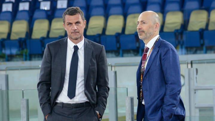 Paolo Maldini e Ivan Gazidis