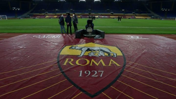 Der Mythos der Stadtgründung wird auf dem Roma-Wappen symbolisiert