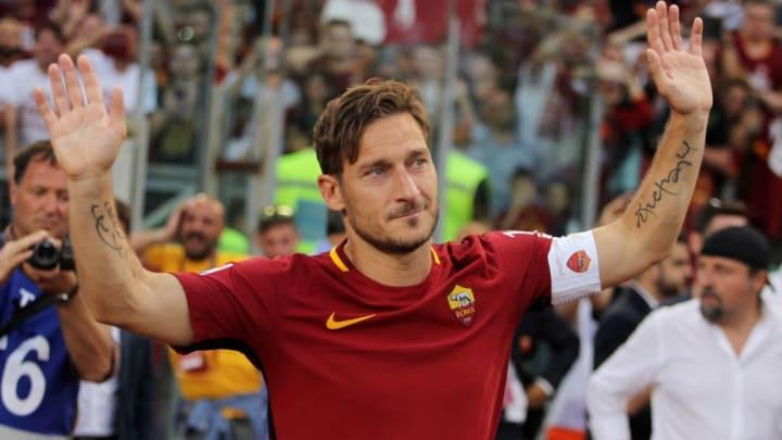 Francesco Totti kickte 25 Jahre für die Roma