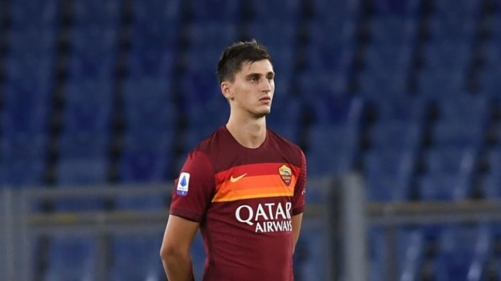 Kumbulla has immediately caught the eye since joining AS Roma this summer