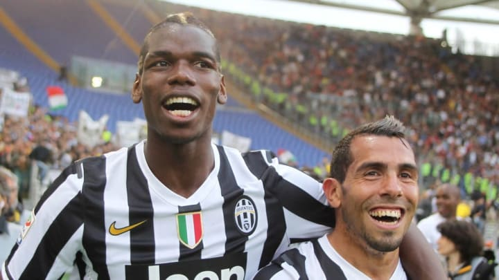 Paul Labile Pogba, Carlos Tevez