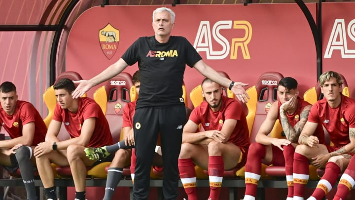 AS Roma v Montecatini - Pre-Season Friendly