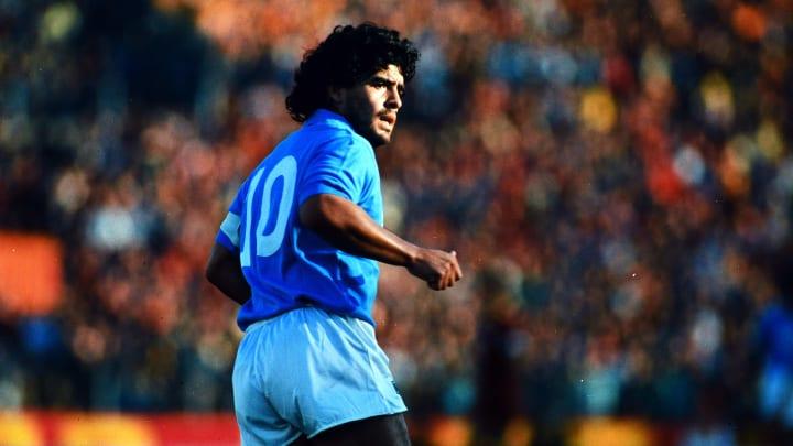 Diego Maradona at Napoli