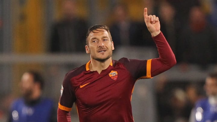 His final great act for AS Roma