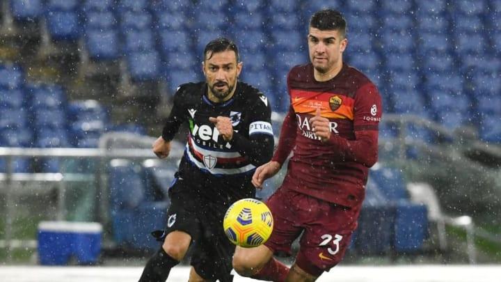 Gianluca Mancini, Fabio Quagliarella