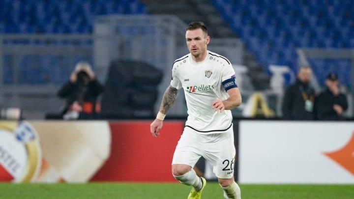 Michael Sollbauer spielte in der Hinrunde der letzten Saison für den Wolfsberger AC