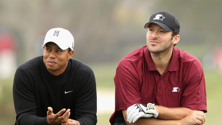 Tiger Woods, Tony Romo