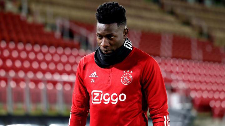 Ajax-Keeper André Onana wurde für ein Jahr gesperrt!