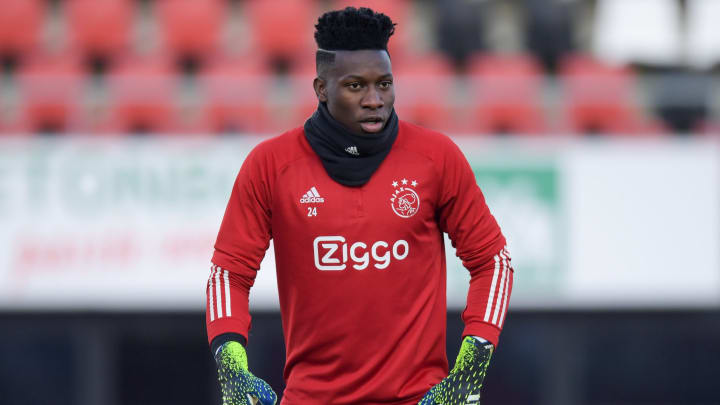 Andre Onana is in the final season of his current Ajax contract