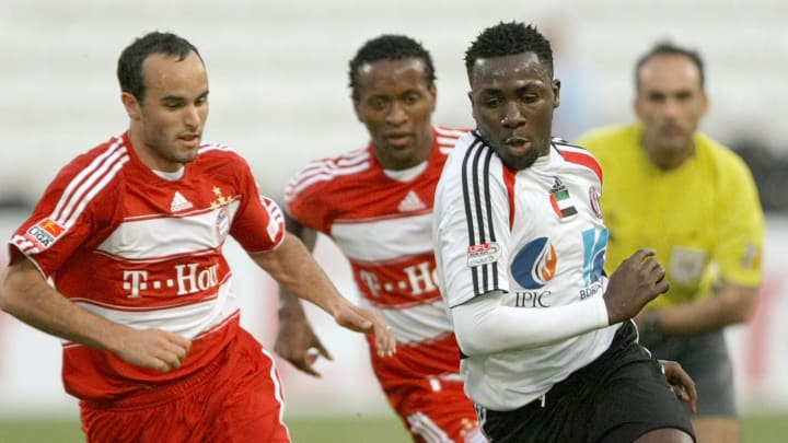 Abu Dhabi al-Jazira player Ibrahim Duake