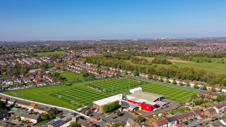 Liverpool's Melwood training complex.