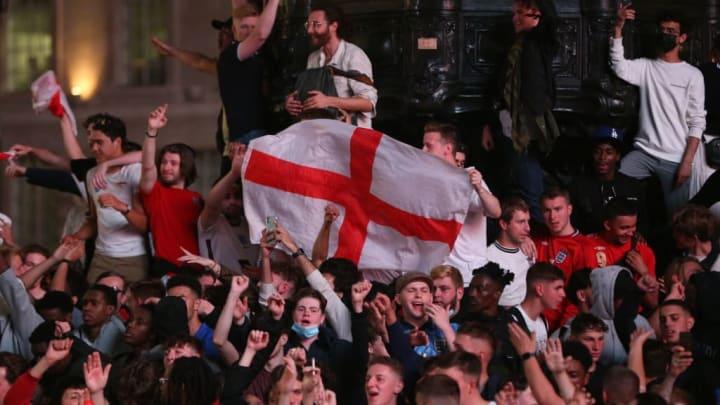 Aftermath of the EURO 2020 Ukraine v England match