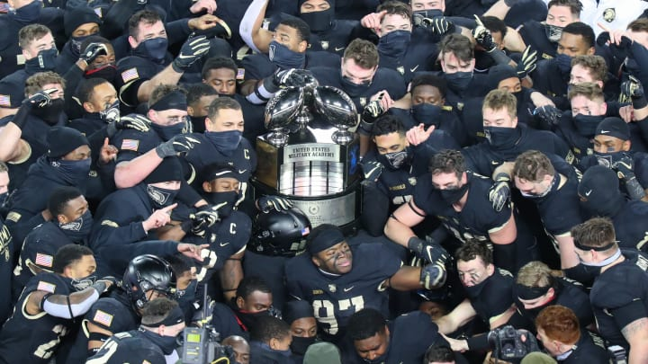 Army Football Wins the Commander-in-Chief's Trophy