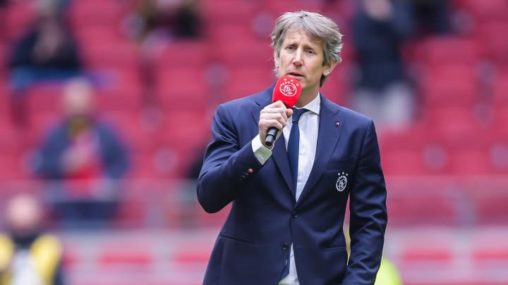 Edwin van der Sar has been chief executive at Ajax since 2016
