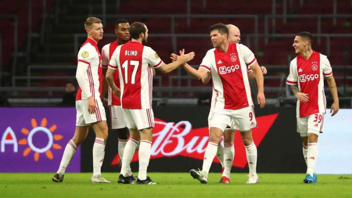 Klaas-Jan Huntelaar, Antony, Perr Schuurs, Davy Klaassen, Ryan Gravenberch, Daley Blind