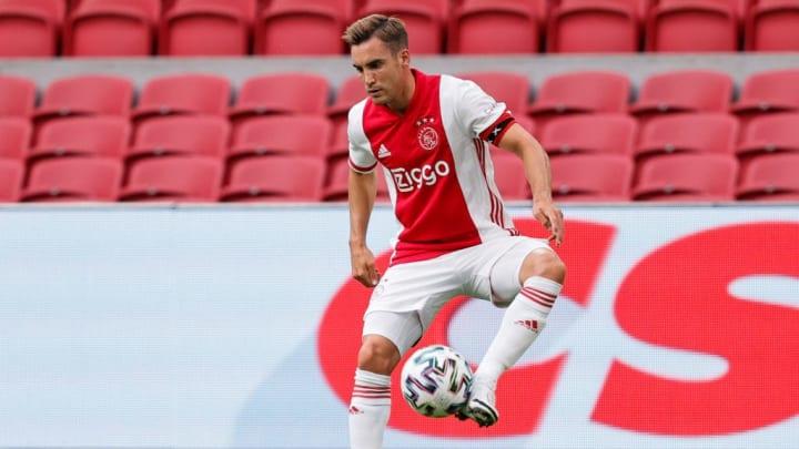 Tagliafico jugando con el Ajax: actualmente en la mira de diferentes equipos europeos.