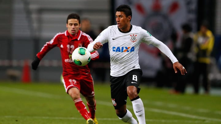 Paulinho Corinthians Al-Ahli Timão